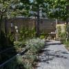 tuin vanaf het terras